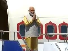 SCO देशों के साथ भारत के संबंध मजबूत करने के लिए बिश्केक पहुंचे प्रधानमंत्री नरेंद्र मोदी