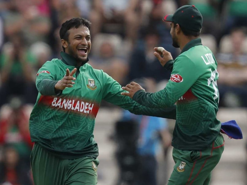 Shakib Al Hasan Keeps Flag Flying For World Cup All-Rounders