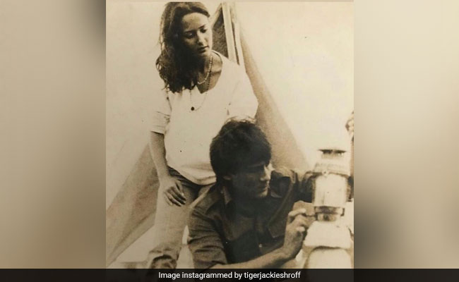 Tiger Shroff Had The Perfect Anniversary Wish For Parents Jackie And Ayesha Shroff