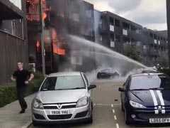 Fire Breaks Out At Housing Complex In London, No Injuries Reported
