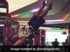 'दबंग' के छेदी सिंह ने जिम में की हैरतअंगेज कसरत, Video हुआ वायरल