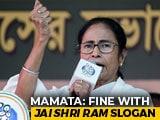 "Video : Fine With ""Jai Shri Ram"" Slogan, But Not How BJP Uses It: Mamata Banerjee"