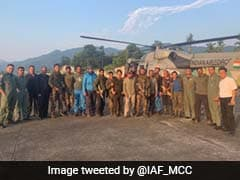 Air Force Retrieves Rescue Team From AN-32 Aircraft Crash Site In Arunachal