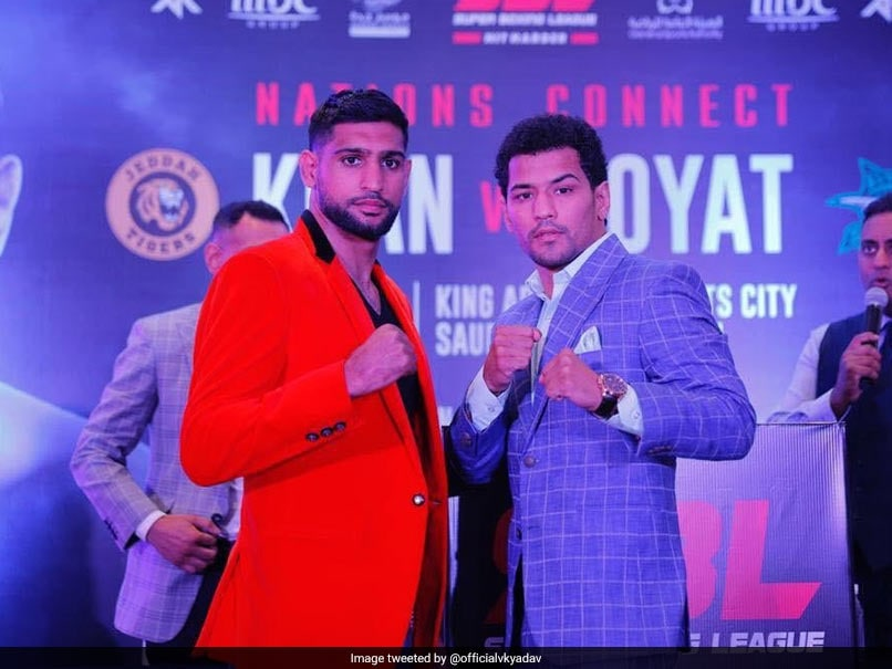 Accident Rules Neeraj Goyat Out Of Bout Against Amir Khan