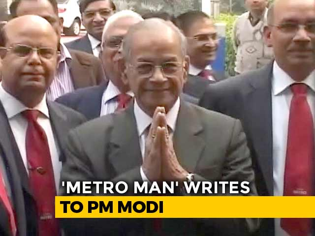 "Video : 'Metro Man' Gives ""Bankruptcy"" Warning To PM Modi On AAP's Free Ride Plan"