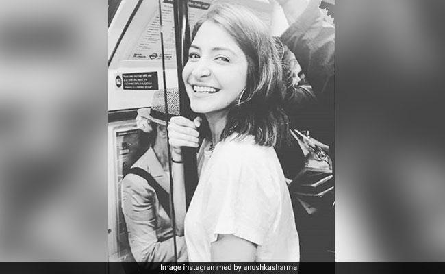 Virat Kohli Spotted Anushka Sharma On The London Tube And Left This Adorable Comment