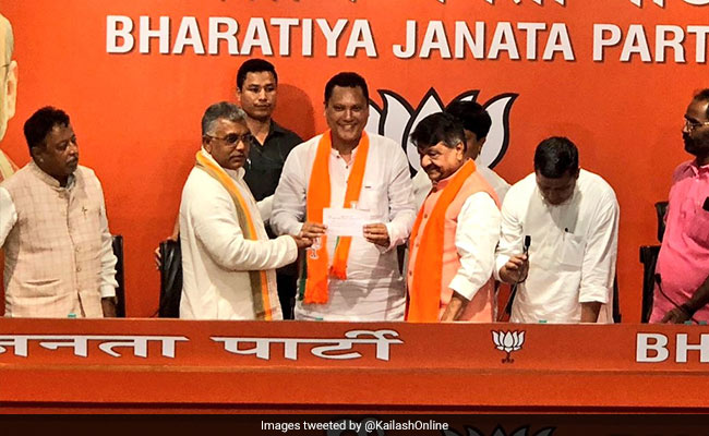 'Just The Trailer': Mukul Roy's One-Liner As Trinamool Lawmaker Joins BJP