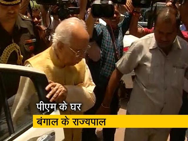 Video : राजनीतिक हिंसा के बीच पीएम मोदी और गृह मंत्री से मिलने पहुंचे बंगाल के राज्यपाल