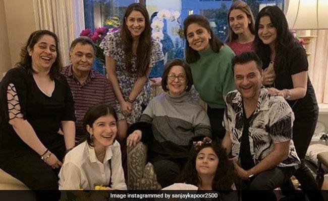 Shanaya Kapoor Checks Off Visit To Rishi And Neetu Kapoor From Her New York Itinerary