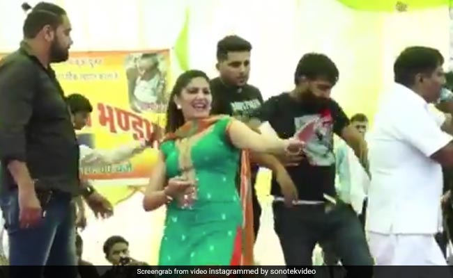 Fans Get On Stage During Dancer Sapna Chaudhary's Show, Several Injured