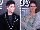 Video : #GQBestDressed: Karan Johar & Kriti Sanon On Fashion & More