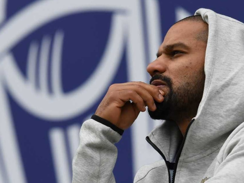 Shikhar Dhawan posts emotional message after being ruled out of World Cup 2019