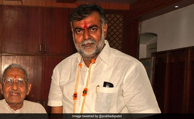 Prahlad Singh Patel Takes Charge As Tourism Minister, Promises To Change Bundelkhand