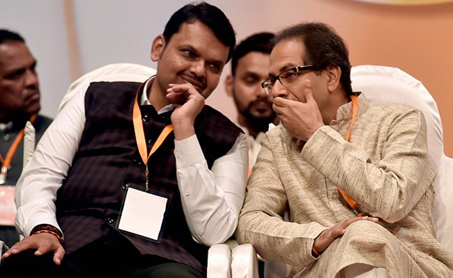 Ahead Of Maharashtra Polls, Rifts Between Shiv Sena, BJP Over Seat Share