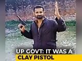 "Video : ""Pistol Made Of Clay"": UP Government On Inmates Flashing Gun In Video"