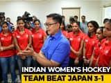 Sports Minister Kiren Rijiju Felicitates Womens Hockey Team