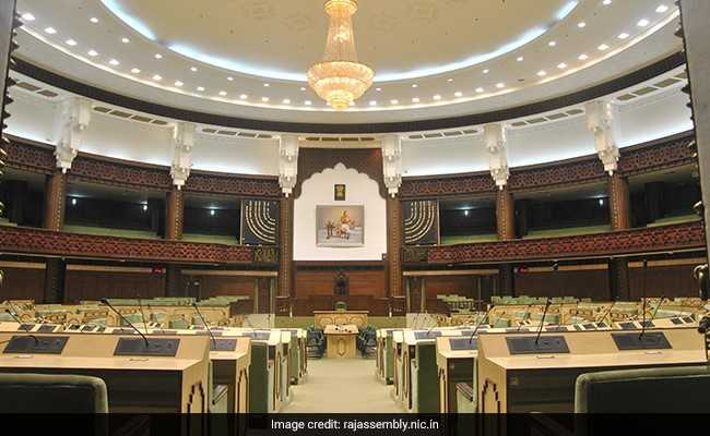 Protests Over Restrictions For Journalists In Rajasthan Assembly