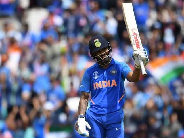 Shikhar Dhawan Leads Indias Charge vs Australia With 17th ODI Century