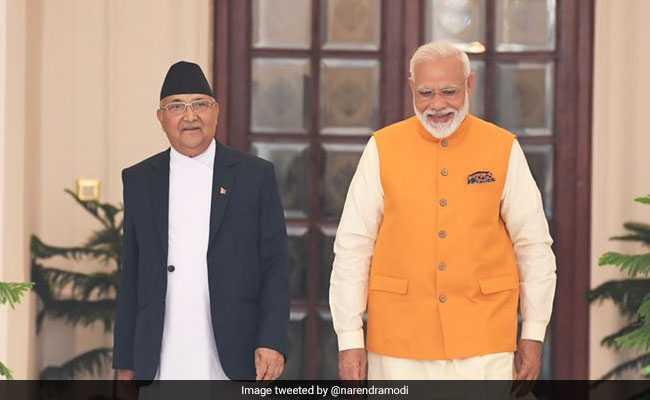 KP Oli Invites PM Modi To Nepal After Attending Oath Ceremony