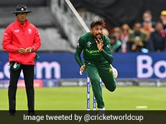 World Cup, India vs Pakistan: Mohammad Amir Warned Twice For Running On Pitch