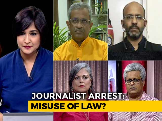 Video : UP Police's Heavy-Handed Action Against Journalists?