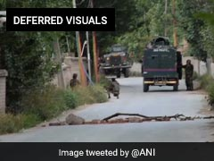 Terrorist Killed In Encounter In Jammu and Kashmir's Budgam District