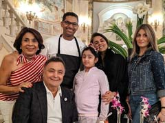 Rishi Kapoor And Neetu's Dinner Date With Granddaughter Samara, 8, In New York