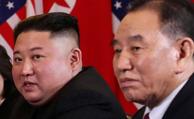 'Purged' aide to Kim Jong-un reappears alongside dictator