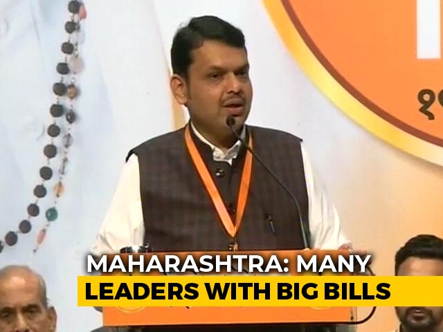 Video : Bungalows Of Devendra Fadnavis, 18 Ministers Owe Lakhs In Water Bills