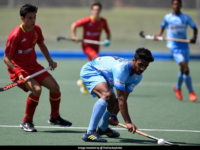 Hockey: Spain beat Indian team 3-1