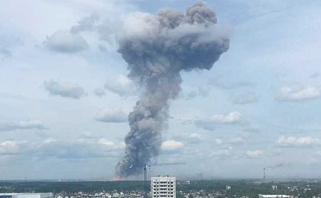 Two missing, 19 injured in Russian explosives factory blast