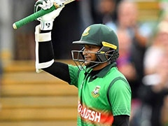 Shakib Al Hasan's Ton Inspires Bangladesh Chase Mammoth Total vs West Indies