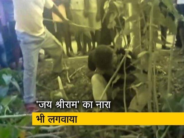 Video : झारखंड में भीड़ ने मुस्लिम युवक की पीट पीटकर की हत्या