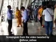 बारिश में 'स्टेच्यू ऑफ यूनिटी' की दर्शक गैलरी में भर गया पानी, वीडियो शेयर कर लोगों ने उठाए सवाल
