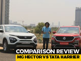 Video : MG Hector Takes On Direct Rival Tata Harrier