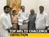 Video : TDP Lawmakers Meet Vice President, Challenge Colleagues Merging With BJP
