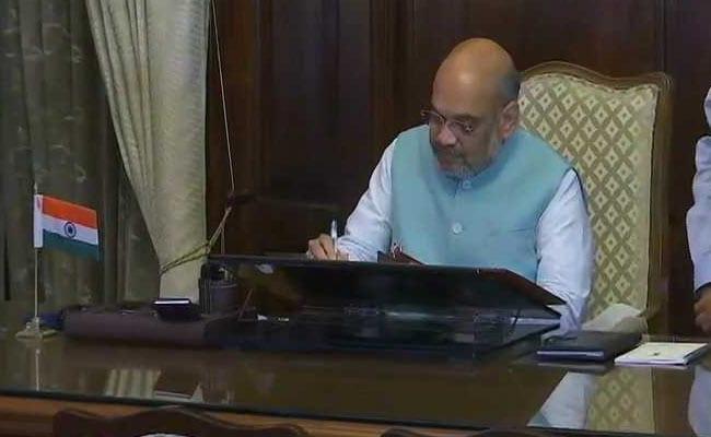 अमित शाह ने संभाला गृहमंत्री के रूप में कार्यभार, जम्मू-कश्मीर सहित कई मुद्दे हैं सामने