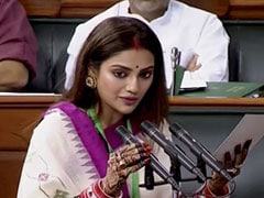 Nusrat Jahan And Mimi Chakraborty, First-Time Parliamentarians, Take Oath