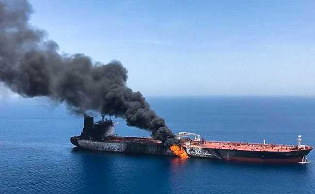 Iran Denies ''Baseless'' US Accusation Of Being Behind Gulf Of Oman Attacks