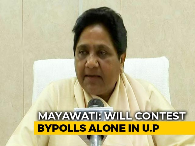 "Video : <i>Gathbandhan</i> On Pause. Mayawati Says ""Not A Permanent Break"""