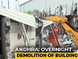"Video : ""Illegal"" Rs. 8-Crore Hall Built By Chandrababu Naidu Demolished Overnight"