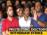 Video : Bengal Doctors End Strike After Meeting With Mamata Banerjee