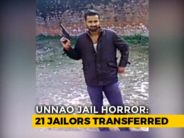 Video : After Videos Of Clay Guns From Prison, UP Government Transfers 21 Jailors