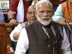 'Modi, Modi' Chants, Cheers As PM Takes Oath In New Lok Sabha. Watch