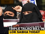 """Video : Fresh Bill To Outlaw """"Triple Talaq"""" In Parliament Today"""