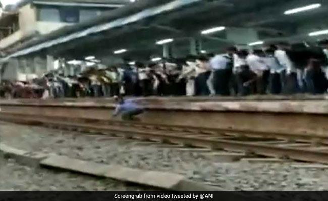 On Camera, Man Gets Stuck Between Platform And Train In Maharashtra