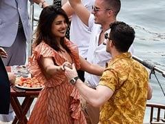 Pics From Priyanka Chopra And Nick Jonas' Parisian Cruise With Sophie Turner-Joe Jonas
