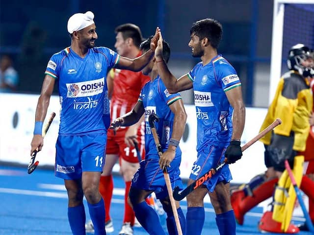 HOCKEY: Thats how India reaches in to Semifinal by crushing to Uzbekistan