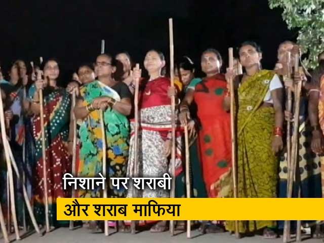 Videos : रायपुर में शराबियों को सुधारने की मुहिम में जुटीं 'लेडी सिंघम'