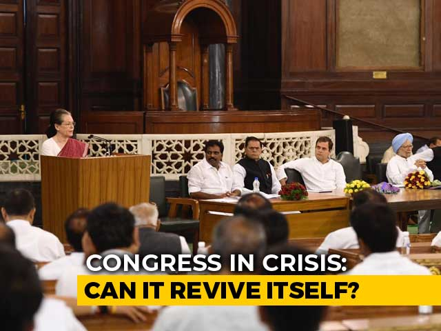 Video : Will Sonia Gandhi Re-Appoint Rahul Gandhi To Lead Congress?